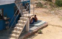 Así pasan la mayoría del tiempo los residentes del barrio La Pradera.