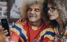 Carlos Valderrama y su esposa Elvira Redondo han estado activos en redes sociales durante el aislamiento preventivo.