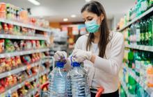 Cuidados para prevenir el contagio de COVID-19 al comprar alimentos
