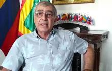 El alcalde de Cartagena, William, Dau.