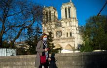 Suena campana de Notre Dame un año después del incendio