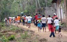 ONU alerta sobre desplazamiento de casi 400 indígenas en Bojayá, Chocó