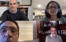 Desarrollo de la charla virtual 'Innovar en época de crisis'