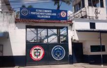 Fachada de la cárcel de Villavicencio.