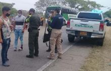 Caen 47 venezolanos en Varas Blancas, Cesar, cuando iban hacia Paraguachón, La Guajira.