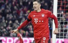 Robert Lewandowski, goleador del Bayern Múnich.