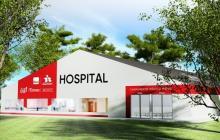 Bavaria y el Banco Itaú donarán hospital para enfrentar la COVID-19