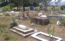 Cementerio de los Pobres en Aguachica.