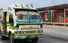 Habrá más rutas de buses de transporte colectivo desde el lunes