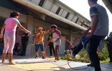 Policía Metropolitana celebró Día del Niño con actividades recreativas