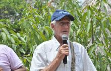 Líder cívico y ambiental asesinado, Alejandro Llinás.