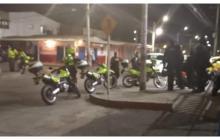 Delincuentes armados roban supermercado en Los Olivos