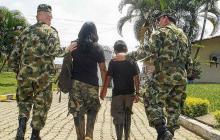 En lo que va de este año un total de 29 menores han sido recuperados por el Ejército en medio de operaciones contra grupos armados ilegales.