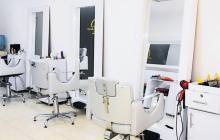 Así se ven por estos días los salones de belleza o peluquerías en Barranquilla. Por ahora esta actividad económica seguirá paralizada.