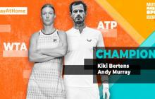 Andy Murray y Kiki Bertens ganan el Mutua Madrid Open Virtual de tenis