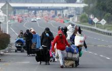 Más de 14 mil venezolanos han retornado voluntariamente a su país: Migración Colombia