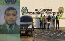 Intendente de la Policía capturado junto con otras personas por posesión de marihuana.