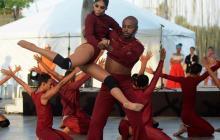 Espectáculo en el Día internacional de la Danza 2017 en Barranquilla.