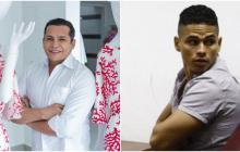 El diseñador de moda Darío Valencia y el condenado Javier Eduardo Jiménez Forero.