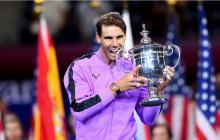 Rafael Nadal, ganador del US Open 2019.