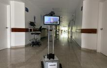 Robot creado por el Sena atenderá pacientes contagiados de COVID-19