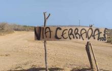 Cierran entrada al Cabo de la Vela para evitar contagios por COVID-19