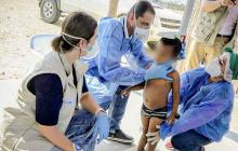 En video | ICBF rescata en La Guajira a nueve niños y una joven wayuu con desnutrición aguda