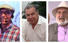 Rafael Bassi, Carlos Escobar De Andreis y Guillermo 'el Mago' Dávila.