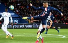 Kylian Mbappé, goleador del PSG.