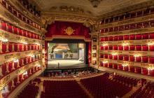 Imagen del interior del teatro Alla Scala de Milán