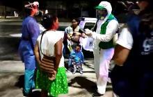 Indígenas que estaban en oreja del puente de Murillo con Circunvalar retornaron a Venezuela