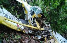 Avioneta de fumigación se desploma en área rural de Santa Marta