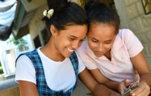 Estudiantes con conectividad desde un municipio del país.