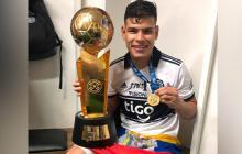 Jorge Arias ha sido campeón tres veces consecutivas con Olimpia de Paraguay.