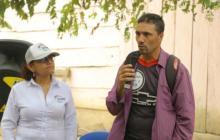 Aramis Arenas Bayona, líder social asesinado en Becerril.