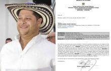 Juez ordena dos días de arresto a gobernador de Córdoba