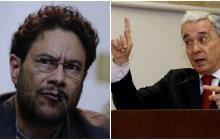 Plenaria del Senado revive pelea entre Álvaro Uribe e Iván Cepeda
