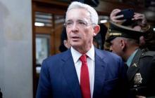 El expresidente y ahora senador, Álvaro Uribe Vélez.