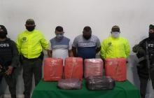Dos capturados en allanamiento en Soledad