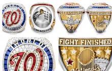 El lujoso anillo de campeón que recibirán los integrantes del equipo de Washington.