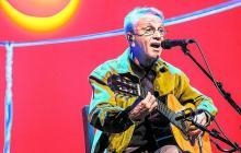 El cantautor brasilero caetano Veloso estuvo en Barranquijazz el año pasado junto a sus hijos.