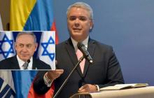 Netanyahu y Duque dialogan sobre Irán, el coronavirus y un acuerdo comercial