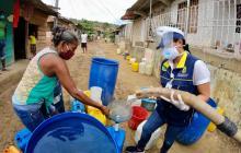 Incrementan el envío de carrotanques con agua en zonas vulnerables