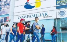 Oficina de Comfamiliar en Barranquilla.