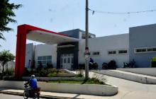 Hospital de Sabanalarga, donde se encuentra la persona herida.