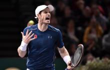 El tenista británico Andy Murray.