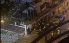 En video | Riña entre auxiliares de Policía de Cartagena: 11 capturados