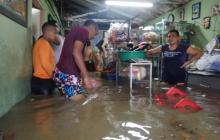 Inundaciones, peleas e imprudencias durante lluvia de este viernes