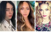 Billie Eilish, Beyoncé y Madonna.