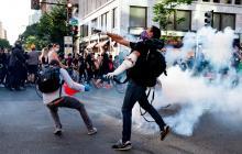 Saqueos en Nueva York durante quinta noche de protestas